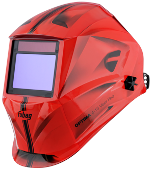 Маска сварщика FUBAG Хамелеон OPTIMA 4-13 Visor Red 38437  38437