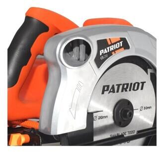 Пила циркулярная PATRIOT CS 210 190301610
